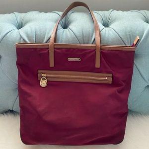 MICHAEL Michael Kors Nylon Tote Shoulder Bag